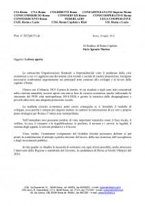 2015p6151 lettera aperta OOSSAssocImprendSindaco